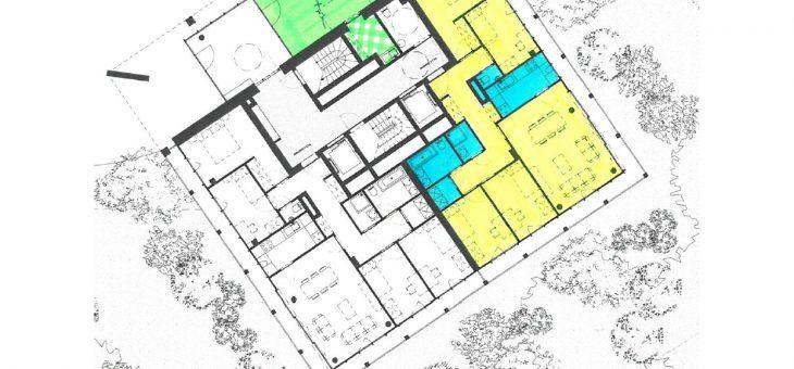 Appel à candidatures : Location d'une surface neuve de 140m² à destination d'une maison médicale