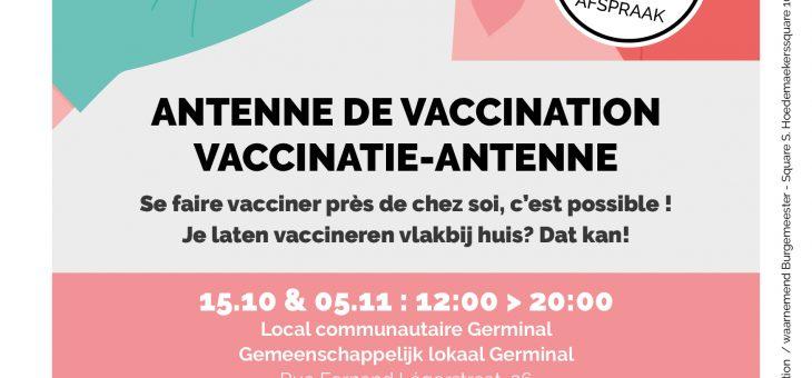Bescherm uzelf en uw omgeving door u te laten vaccineren.