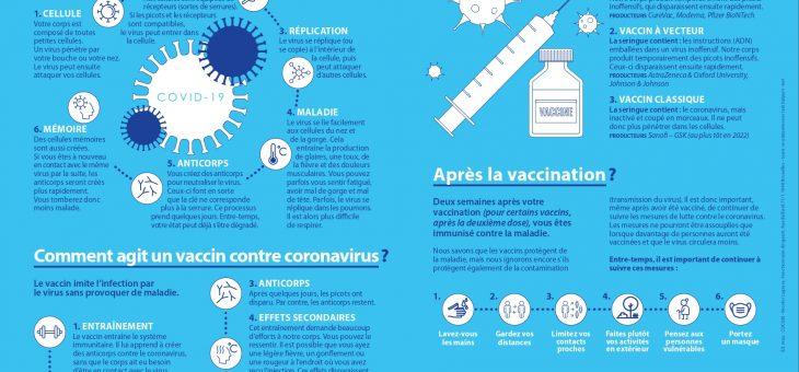 Comment agit un vaccin contre le coronavirus ?
